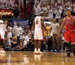 LeBron James, Derrick Rose, Dwyane Wade
