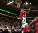 LeBron James Dunking on Jason Terry
