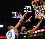 LeBron James Winning Layup