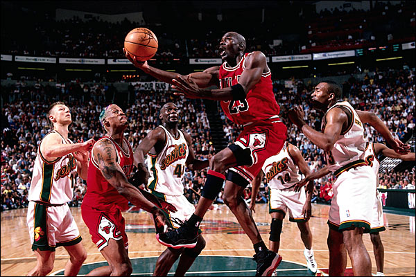 Michael Jordan NBA Franchises Longest Winning Streaks