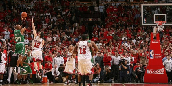 Ray Allen vs Bulls e1362579296535 Most 50 Points NBA Games in the Last Decade