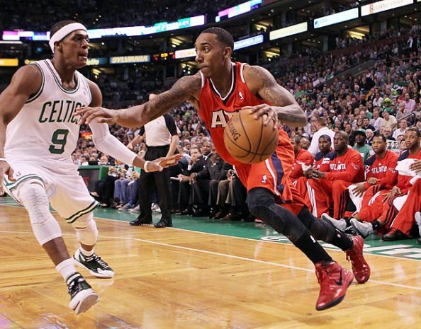 Rondo and Teague e1363785713555 Utah Jazz   The Unknown Future at Point Guard