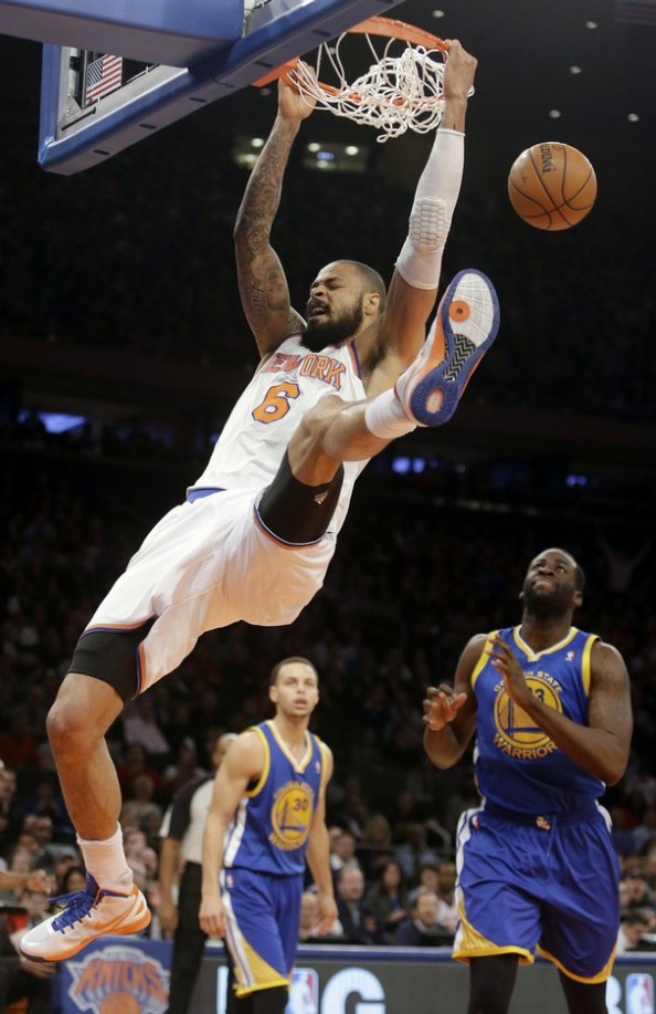 Tyson Chandler Dunk e1363012178440 NBA Players With the Most Dunks in 2012 2013 Season