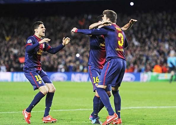 Barcelona 2013 CHampions League