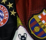 Bayern, Barcelona Crests