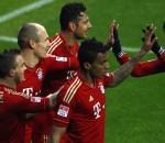 Bayern Munich Players Celebrating a goal