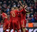 Bayern Munich after scoring a goal