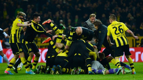 Borussia Dortmund 2013 Champions League