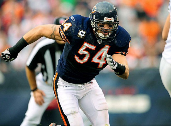 Brian Urlacher Bears