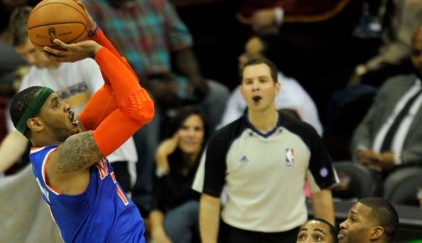 Carmelo Anthony Fadeaway