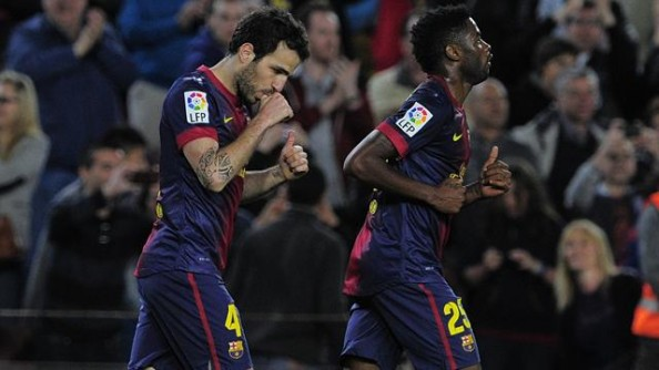 Cesc Fabregas, Alex Song