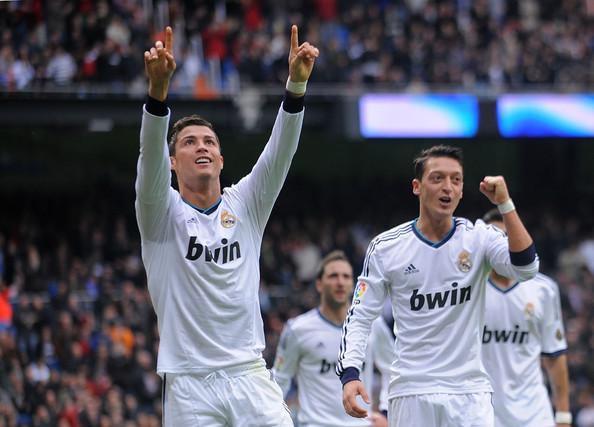 Cristiano Ronaldo, Mesut Ozil