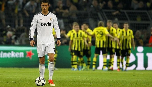 Cristiano Ronaldo at Dortmund
