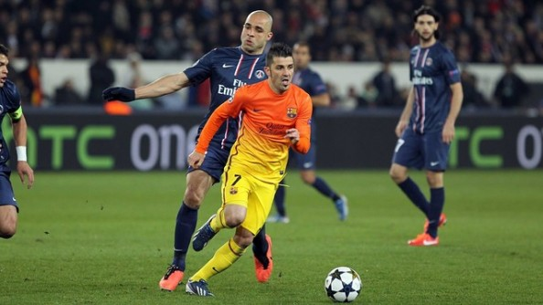 David Villa e1365579570136 Where to Watch Barcelona vs PSG Live