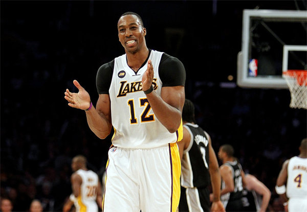 Dwight Howard Happy Los Angeles Lakers   Dwight Howard is Better Off Without Kobe Bryant