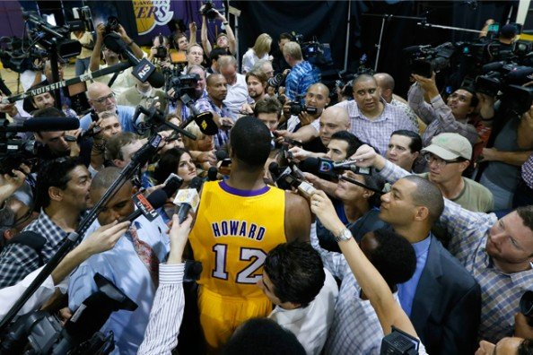 Dwight Howard Questions e1367329132837 Los Angeles Lakers   Whats Next?