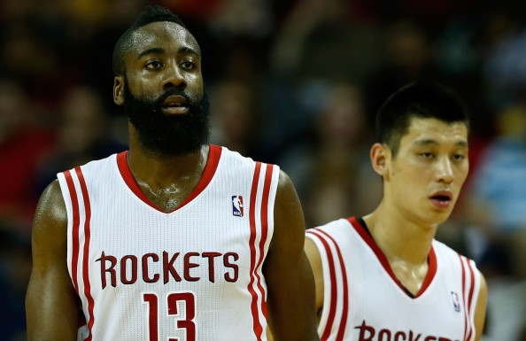 James Harden Jeremy Lin1 e1366477653781 Houston Rockets   Jeremy Lin Isnt in a Competition With James Harden