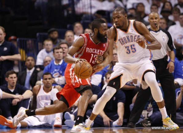 James Harden vs Kevin Durant