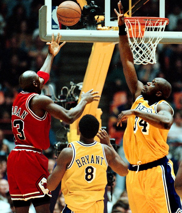 Jordan Shaq 1998 e1365691106193 Closest Scoring Title Races in NBA History