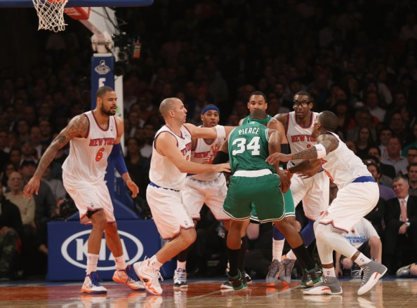 Knicks Defense on Paul Pierce