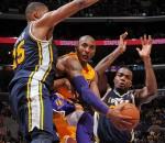 Lakers vs Jazz 2013