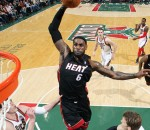LeBron James Dunk vs Bucks