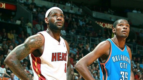 LeBron James, Kevin Durant