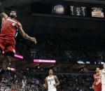 LeBron James vs Bucks
