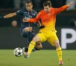 Lionel Messi, Lucas Moura