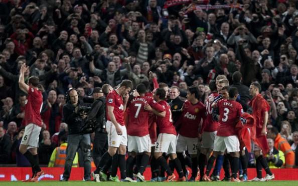 Manchester United celebrations