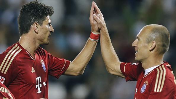 Mario Gomez, Arjen Robben