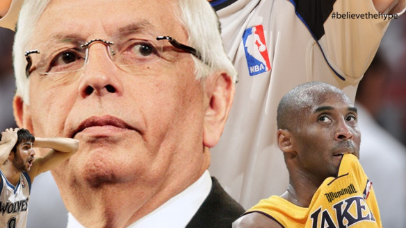 NBA Conspiracy Los Angeles Lakers   Getting Help From the NBA to Make the Playoffs