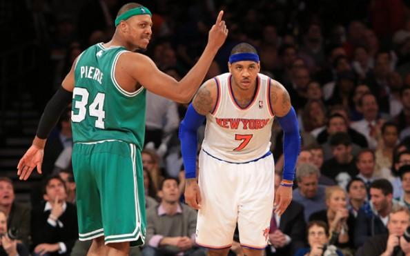 NBA: Boston Celtics at New York Knicks