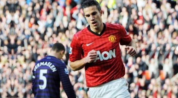 Robin van Persie vs Arsenal