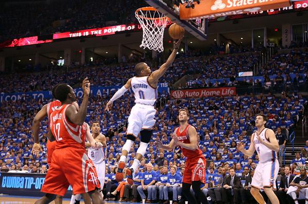 Russell Westbrook vs Rockets