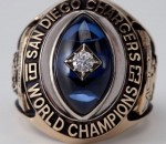 San Diego Chargers Ring