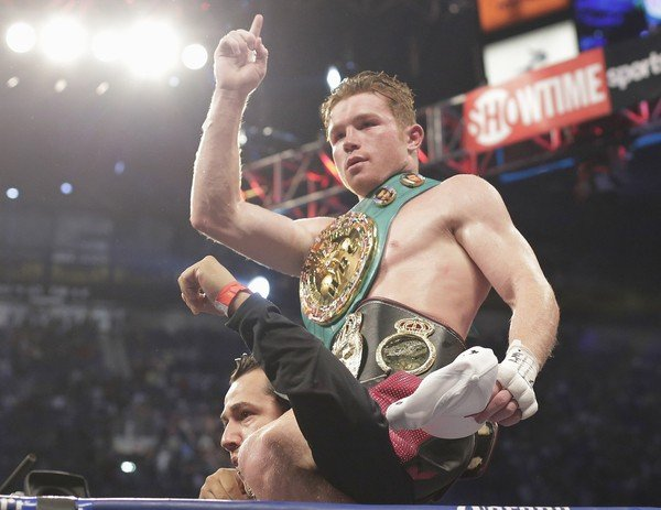 Saul Alvarez Aftermath of the Canelo vs Trout Title Fight