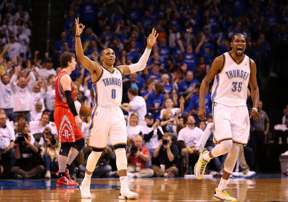 Westbrook, Durant, Thunder