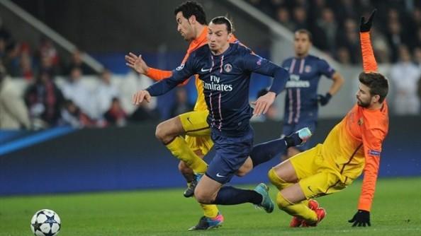 Zlatan Ibrahimovic vs Barcelona