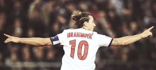 Zlatan Ibrahimovic The Champions League Four Goals Club