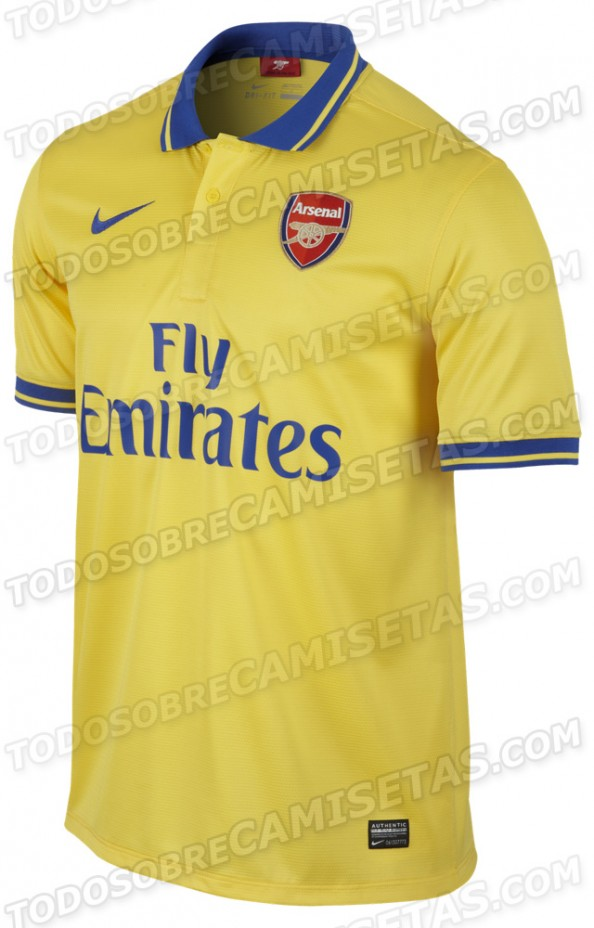 newest 301b7 3c6f0 Arsenal FC – The New 2013-2014 Kit