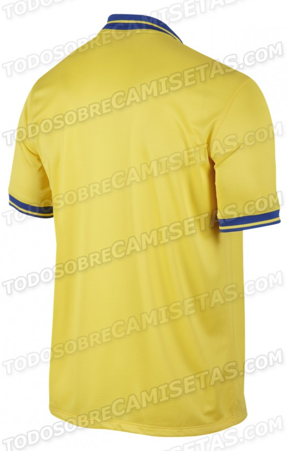 Arsenal 2014 back e1368944666270 Arsenal FC – The New 2013 2014 Kit