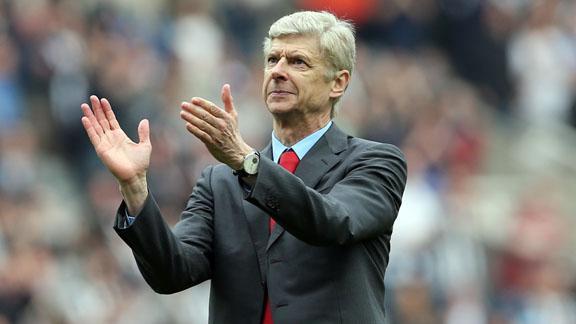 Arsene Wenger Happy