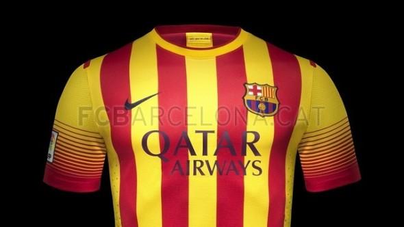 Away Kit Barca 2013-2014
