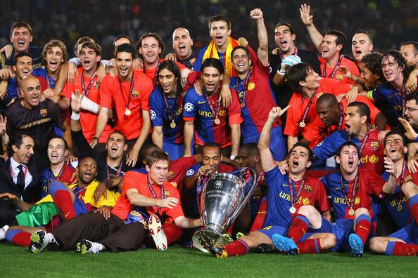 Barcelona European Champions