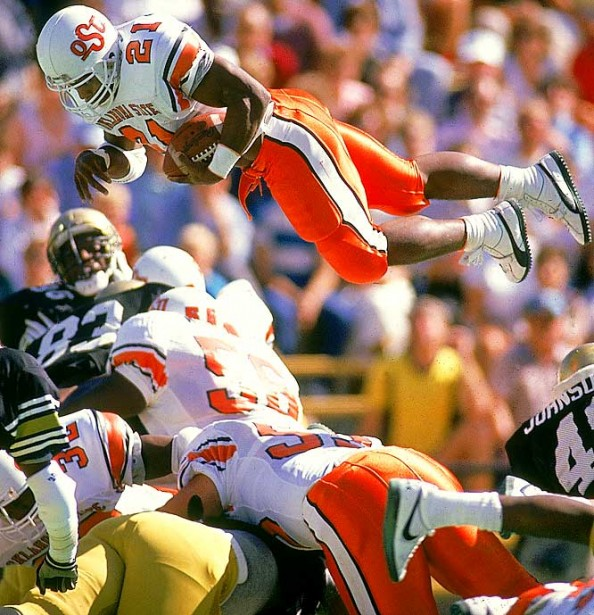 Barry Sanders e1367765067672 College Football Records That Will Never be Broken