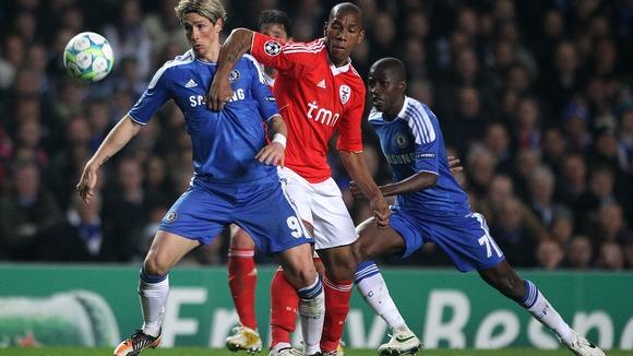 Benfica vs Chelsea 2013