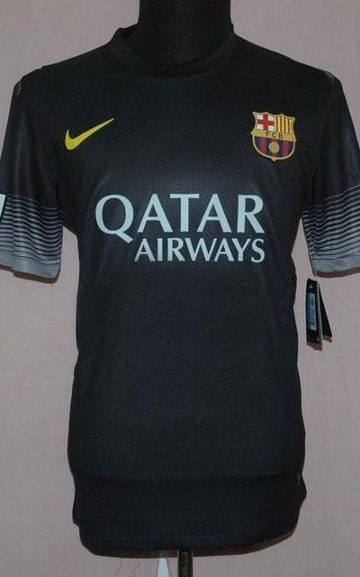 e8141a390 FC Barcelona Present - The Black Jersey for 2013-2014