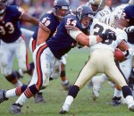 Brian Urlacher has been in the NFL since 2000, making 8 Pro Bowls and four first team All-Pro selections