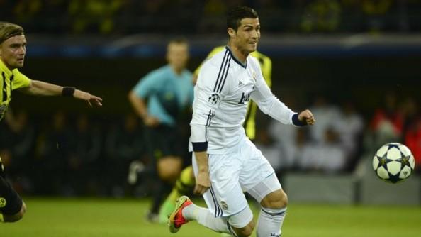 Cristiano Ronaldo Real Madrid vs Dortmund